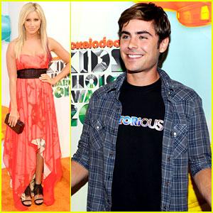 Zac Efron & Ashley Tisdale - Kids' Choice Awards 2012