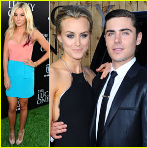 Zac Efron: 'Lucky One' L.A. Premiere with Taylor Schilling!