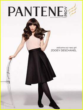 Zooey Deschanel: Pantene's New Spokeswoman!