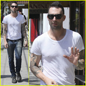 Adam Levine: Mustard Seed Sunday