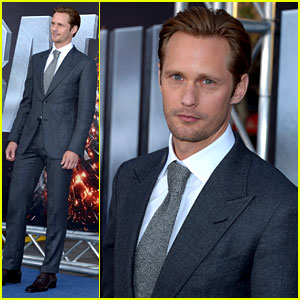 Alexander Skarsgard: 'Battleship' Premiere with Liam Neeson!