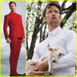 Alexander Skarsgard Talks Religion & Rihanna with 'Bullett'