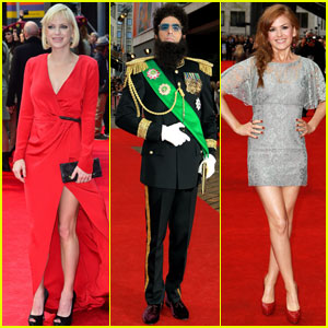 Sacha Baron Cohen &#038; Anna Faris: 'Dictator' World Premiere!