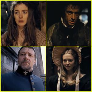 Anne Hathaway & Hugh Jackman: 'Les Miserables' Teaser Trailer!