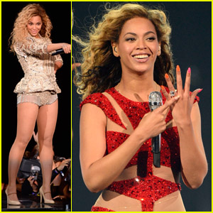 Beyonce: Second Night in Atlantic City!