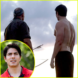 Brandon Routh: 'Crooked Arrows' In Theaters Now!