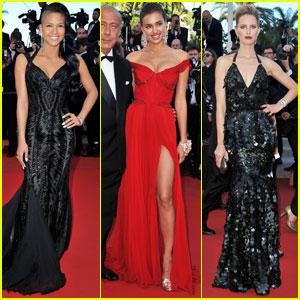 Irina Shayk & Karolina Kurkova: 'Killing' Cannes Premiere!
