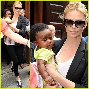 Charlize Theron: I Didn't Aim To Be A Single Mother