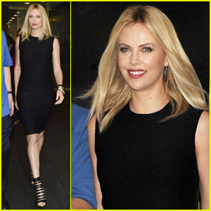 Charlize Theron: I Love Diaper Duty!