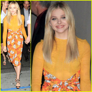Chloe Moretz: 'Dark Shadows' After Party!