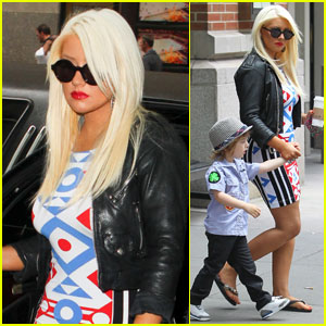 Christina Aguilera: NBC Upfront with Matt Rutler