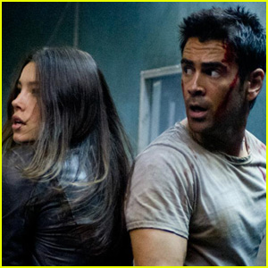 Colin Farrell &#038; Jessica Biel: New 'Total Recall' Stills!