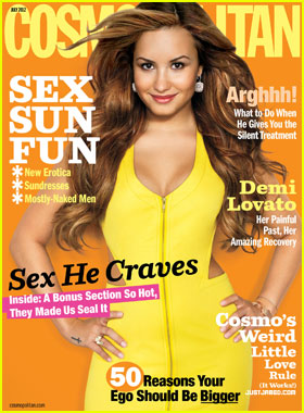 Demi Lovato Talks Bipolar Disorder & Dating with 'Cosmopolitan'