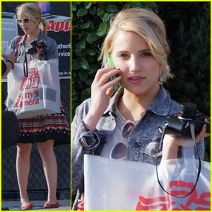 Dianna Agron: Camera Store Cutie