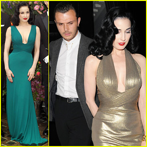 Dita Von Teese: The Arts Club with Theo Hutchcraft!