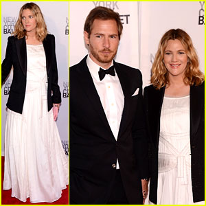 Drew Barrymore: NYC Ballet Gala with Will Kopelman!