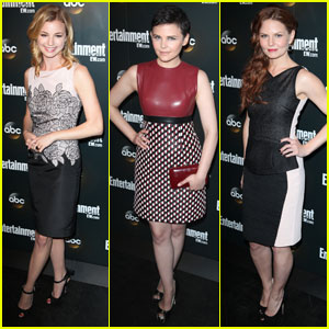 Ginnifer Goodwin & Emily VanCamp: ABC Upfront Party!