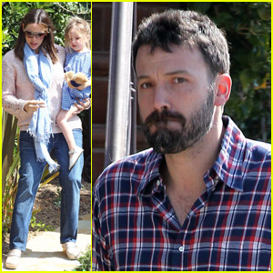 Jennifer Garner &#038; Ben Affleck: Busy Saturday Morning