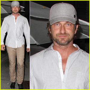 Gerard Butler Hits Hotelier's Birthday Bash