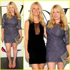 Gwyneth Paltrow: 'Conversation' Launch with Amanda de Cadenet!