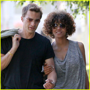 Halle Berry & Olivier Martinez: Memorial Mates
