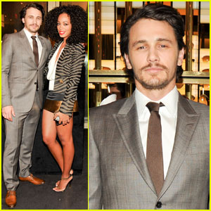 James Franco: Gucci & 'GQ' Party with Solange Knowles!