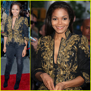 Janet Jackson: 'Supermodels' Exhibition Opening!