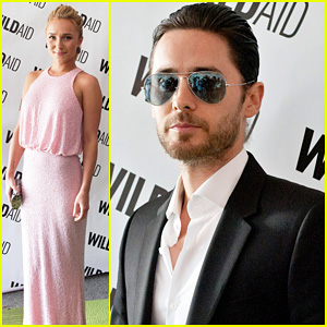Jared Leto & Hayden Panettiere: WildAid Charity Gala!
