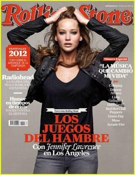 Jennifer Lawrence Covers 'Rolling Stone Spain' May 2012