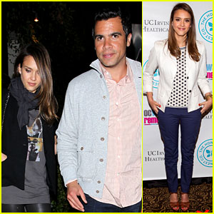 Jessica Alba: Date Night with Cash Warren!