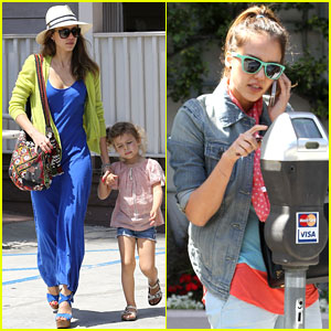 Jessica Alba: Sunday Brunch with the Family!