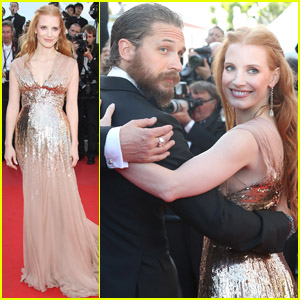 Jessica Chastain & Tom Hardy: 'Lawless' Premiere!