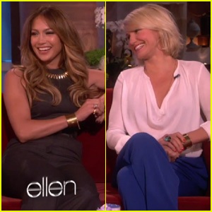 Jennifer Lopez &#038; Cameron Diaz: No Feud on 'What to Expect' Set!