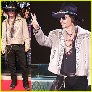 Johnny Depp &#038; Tim Burton: 'Dark Shadows' Tokyo Premiere