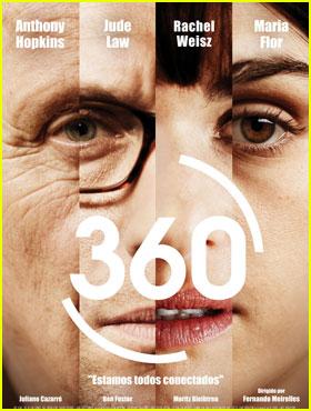 Jude Law & Rachel Weisz: '360' Poster!
