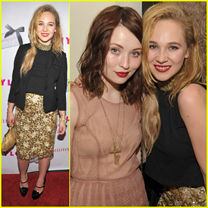 Juno Temple &#038; Emily Browning: 'Nylon' Party!