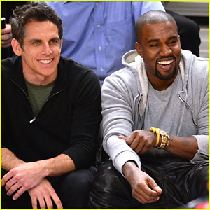 Kanye West: Knicks Playoff Game with Ben Stiller!