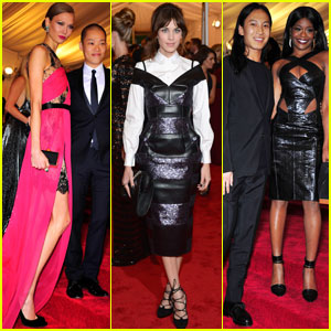 Azealia Banks &#038; Alexa Chung - Met Ball 2012