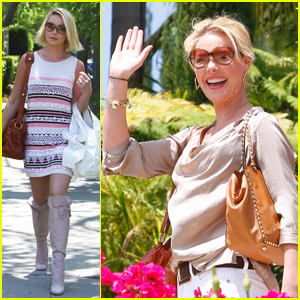 Katherine Heigl: Mother's Day Celebration
