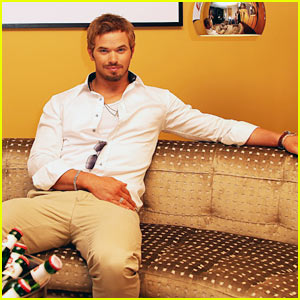 Kellan Lutz: 'Tarzan' Break for Cannes!