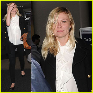 Kirsten Dunst &#038; Garrett Hedlund: LAX Sweethearts!