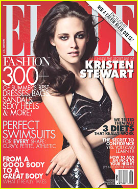 Kristen Stewart Covers 'Elle' June 2012