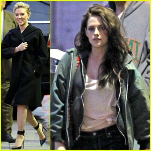Kristen Stewart & Scarlett Johansson: 'Jimmy Kimmel' Guests!