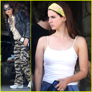 Lana Del Rey: Lunch with Steven Tyler!