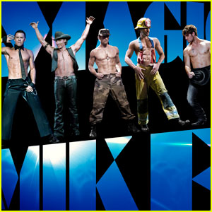 Channing Tatum: Shirtless 'Magic Mike' Poster!