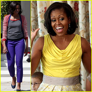 Michelle Obama Celebrates Military Spouses & Mothers