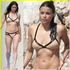 Michelle Rodriguez: Bikini Body in Antibes!