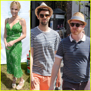 Jesse Tyler Ferguson & Julie Bowen: Cinco de Mayo Celebrations!
