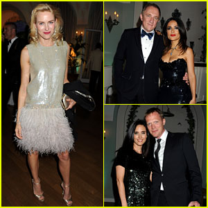 Naomi Watts & Salma Hayek: Vanity Fair Party at Cannes!