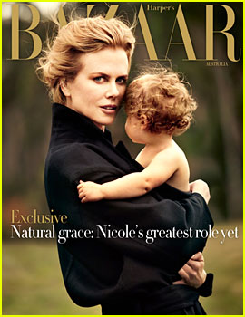 Nicole Kidman & Faith Cover 'Harper's Bazaar Australia'